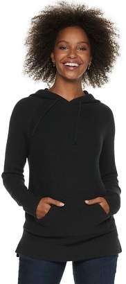 Sonoma Goods For Life Women's SONOMA Goods for Life Ribbed Long Hoodie