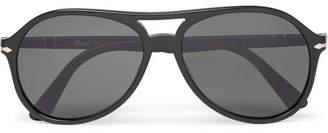 Persol Aviator-Style Acetate Polarised Sunglasses