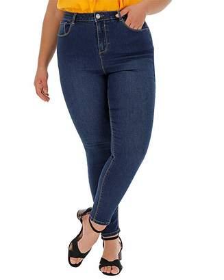 Chloé Aston Villa Indigo High Waist Skinny Jeans