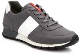 Prada Spazzolato Trainer Sneakers