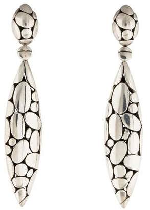 John Hardy Kali Marquis Drop Earrings