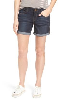 Women's Wit & Wisdom Ab-Solution Cuffed Denim Shorts $58 thestylecure.com