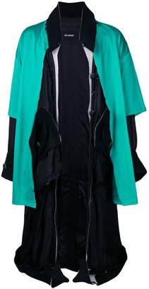 Raf Simons deconstructed lining coat