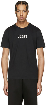 Givenchy Black Small 'Judas' T-Shirt $440 thestylecure.com