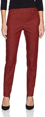 Ruby Rd. Women's Pull-On Colored Extra Stretch Denim Pant