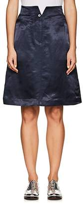 Thom Browne WOMEN'S HOLLYWOOD KNEE-LENGTH SATIN SKIRT
