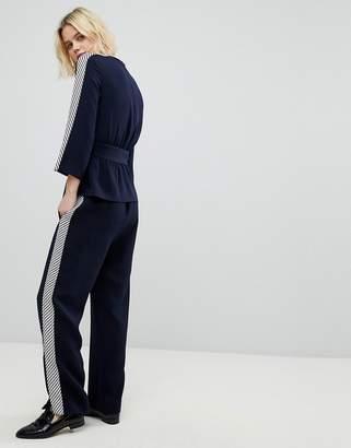 Whistles Multi-Stripe Detail PANTS Co-Ord