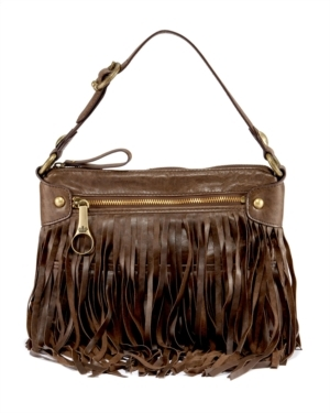 Fringe Babydoll Shoulder Bag