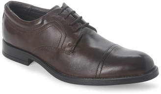 Joseph Abboud Brown Major Cap Toe Oxfords