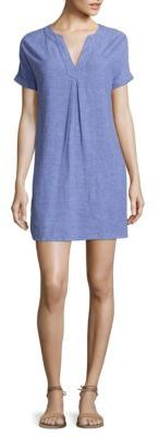 Vineyard Vines Dolman Short Sleeve Linen Blend Dress $98 thestylecure.com