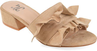 Journee Collection Womens Sabica Heeled Sandals