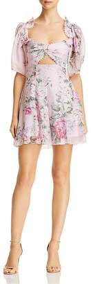 Alice McCall Peony Cutout Mini Dress