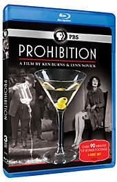 PBS Ken Burns: Prohibition - Blu-ray 3-Disc Set