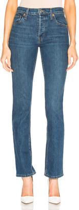 RE/DONE ORIGINALS Cindy Crawford High Rise Stretch Jean