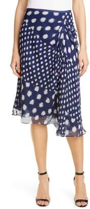 Diane von Furstenberg Kessa Asymmetrical Silk Skirt