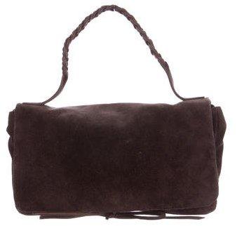 Miu MiuMiu Miu Suede Handle Bag