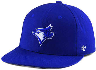 '47 Boys' Toronto Blue Jays Basic Shot Snapback Cap