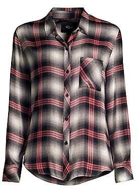 Rails Women's Hunter Plaid Button-Down Shirt