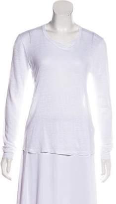 A.L.C. Linen Long Sleeve T-Shirt