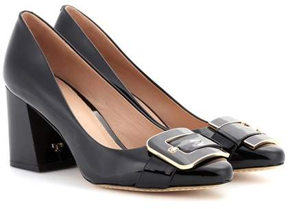 Tory Burch Maria patent leather pumps