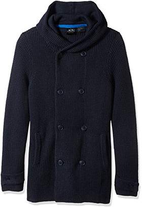 Armani Exchange A X Men's Knit Peacoat Sweater