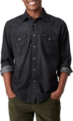 Wrangler Men's Snap-Front Western Shirt