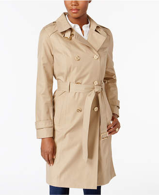 MICHAEL Michael Kors Double-Breasted Trench Coat, Created for Macy's