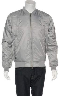 10.Deep Woven Bomber Jacket