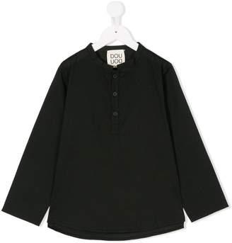 Douuod Kids mandarin collar top