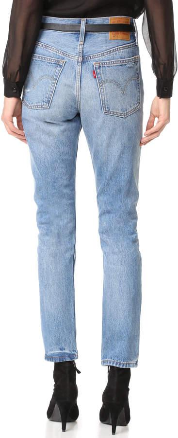 Levi's 501 Skinny Jeans 4
