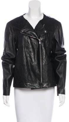 Chanel Quilted Leather Jacket