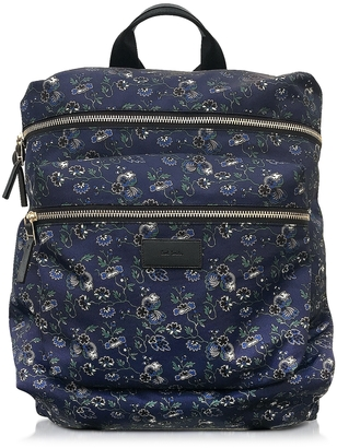 Paul Smith Logan Floral Print Nylon Rucksack $625 thestylecure.com