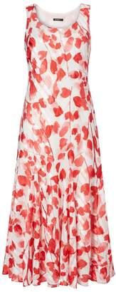 Dorothy Perkins Womens *Roman Originals Red Poppy Satin Skater Dress