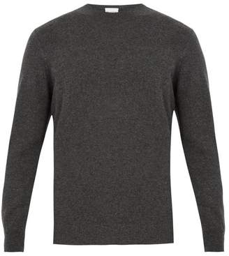 Raey Crew Neck Cashmere Sweater - Mens - Grey