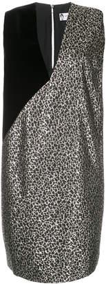 Lanvin panelled dress