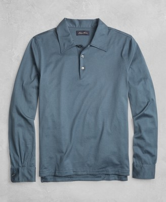 Brooks Brothers Golden Fleece Long-Sleeve Polo Shirt