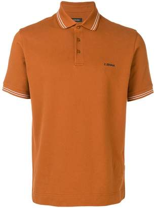 Ermenegildo Zegna chest logo polo shirt