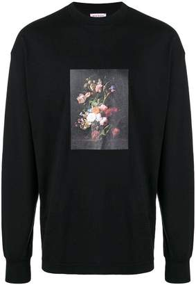 Palm Angels floral print longsleeved T-shirt
