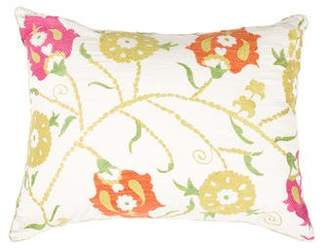 Madeline Weinrib Floral Throw Pillow