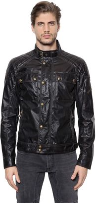 Champion Waxed Cotton Moto Jacket $950 thestylecure.com
