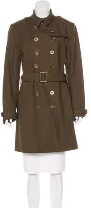 Burberry Knee-Length Belted Coat