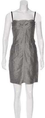 Antonio Berardi Strapless Mini Dress