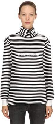 Bbc-Billionaire Boys Club Striped Jersey Long Sleeve T-Shirt