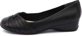 New Supersoft Tallise Black Womens Shoes Comfort Shoes Flat