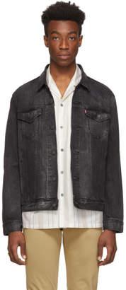 Levi's Levis Grey Denim Trucker Jacket