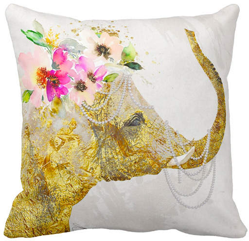 By Jodi All Things Good Throw Pillow