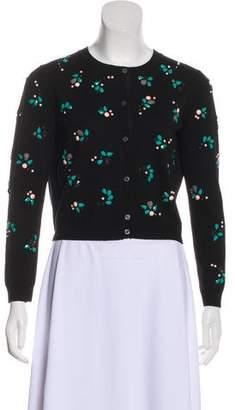 Nina Ricci Embellished Wool Cardigan