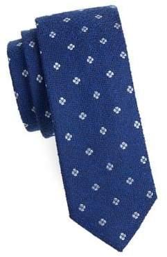 Silk tie with diagonal stripe pattern HUGO BOSS hiGFqi