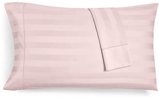 Charter Club Damask Stripe Standard Pillowcase Set, 550 Thread Count 100% Supima Cotton