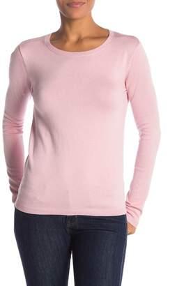 Philosophy Apparel Long Sleeve Crew Neck Pullover